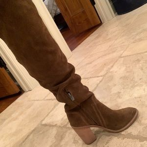 Over the knee Vince Camuto boots size 7